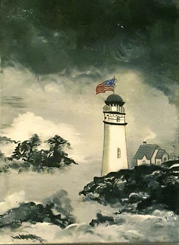Light-House-on-the-shore